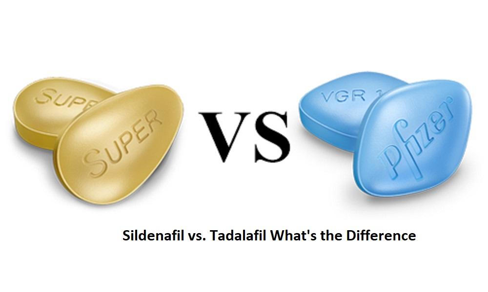 Sildenafil vs. Tadalafil: What's the Difference?