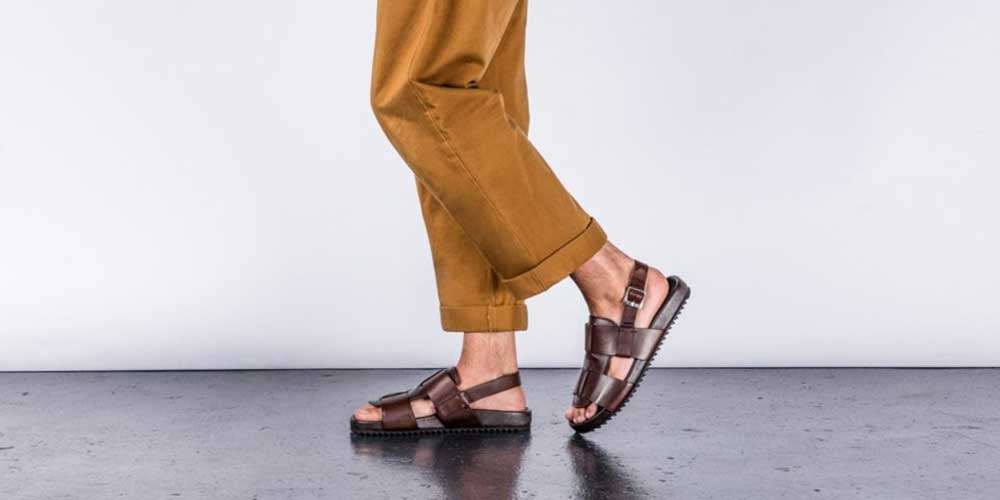 Upgrade your style with sandals for men