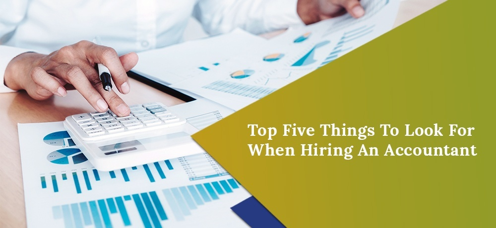 Top Five Things to Look for When Hiring a Professional Accountant for Trucking Company
