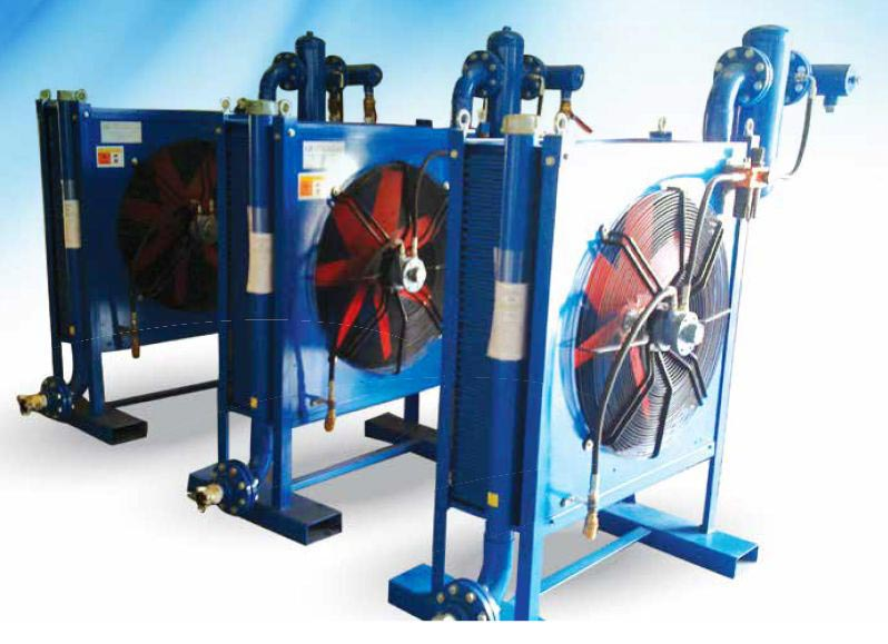 Prevent your air compressor cooler from overheating this summer.